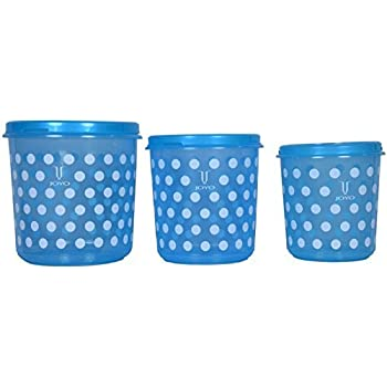 Beautiful Buy Joyo Polka Food Storage Containers - Set Of 3 Online at Low  CI63