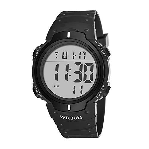 Reloj del Deporte Digital de los Estudiantes Niños electrónica llevó Reloj de Pulsera Impermeable...