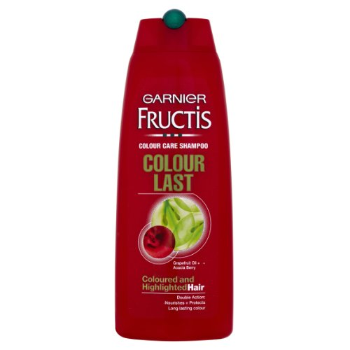Garnier Fructis Shampoo Color Last 250ml (Pack of 3)