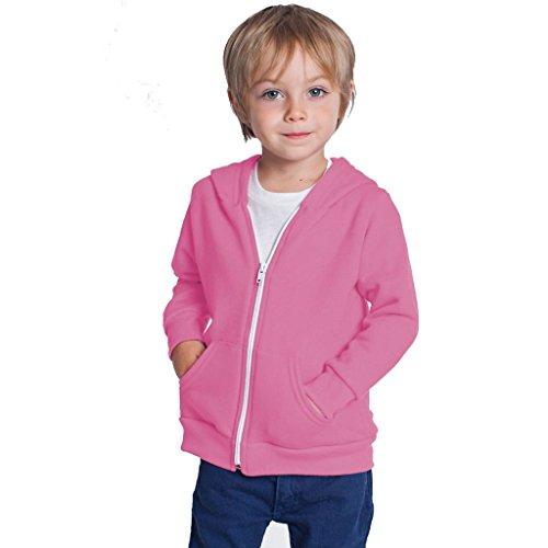 Kids Boys Girls Childrens Hoodie Coat Jacket Sweatshirt Tops Clothes Hoodies Unisex Jackets Zipper Age 3-13