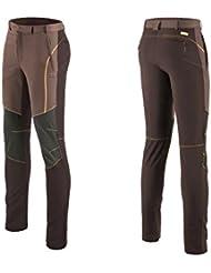 hysenm–Pantalones de deporte Pantalones Pantalones de secado rápido camping Hiking Deporte Outdoor Marrón marrón