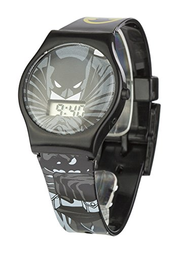 Batman BAT4DC Orologio da Bambino, Plastica, Nero