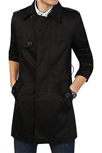 men24-mens-black-khaki-turndown-collar-single-breasted-rain-shield-trench-coat-black-l-manufacturerx