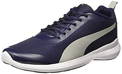 Puma Men's Lazer Evo IDP Navy Blue Running Shoes-11 UK (46 EU) (12 US) (37189602_a)