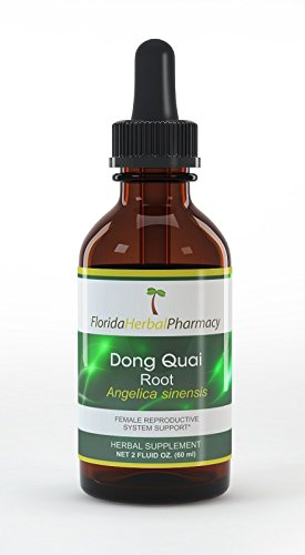 Florida Herbal Pharmacy, Dong Quai (Angelica sinensis) Tincture / Extract 2 oz. (Pack of 3)