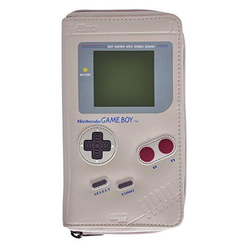 Nintendo Geldbörse Game Boy 19x11x2,3cm grau