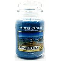 Yankee Candle Rare Turquoise Sky Classico Signature Barattolo Grande 623 g – Sicuro per Corrispondenza Box