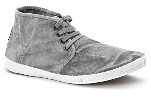 Natural World Eco -SCARPA Sneakers VEGAN per uomo in Tela, stile classico, CON LACCI, disponibile in vari colori - Modello 306E