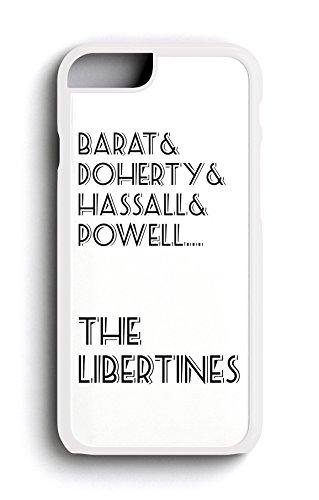The Libertines Groupe les noms Indie Rock groupe Pete Doherty iPhone 6/6S 11,9cm Housse/étui en plastique rigide pour téléphone Blanc
