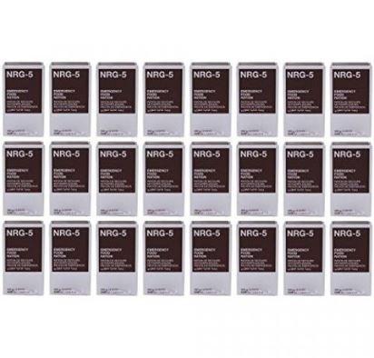 Notverpflegung, NRG-5, 1 Karton mit 24 Packungen a 500 g, Notration