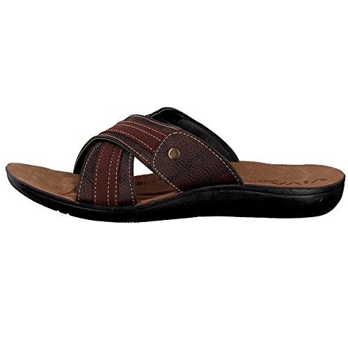 brandsseller , Chaussures spécial piscine et plage pour homme Marron
