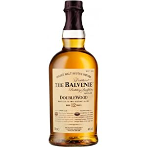 The Balvenie 12 Year Old Double Wood Single Malt Scotch Whisky 70cl Bottle from The Balvenie