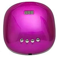 GYHUJI Secador de uñas, lámpara LED/UV portátil para Clavos, Temporizador 5/30 / 60s, Sensor infrarrojo, Placa.
