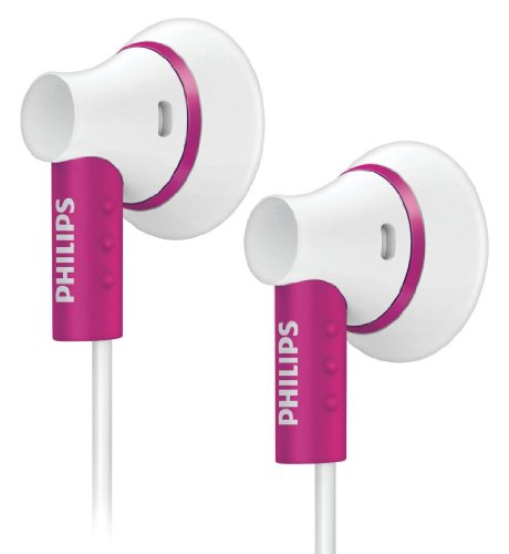 Philips In-Ear SHE3000PK/10 Pink/White