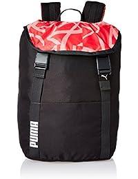 Puma Phantom Black-Paradise Pink-Aop Laptop Backpack (7513902)