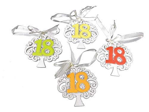 Subito disponibile 12 pezzi albero della vita 18 anni diciottesimo compleanno con calamita bomboniera