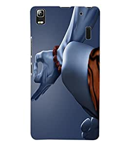 ColourCraft Lord Shiva Design Back Case Cover for LENOVO K3 NOTE