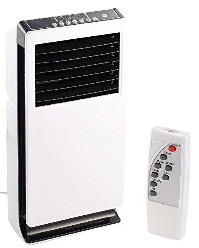 Sichler Haushaltsgeräte Verdunstungskühler: Design-Verdunstungs-Luftkühler mit Ionisator LW-440, 65 Watt (Kühlgerät)