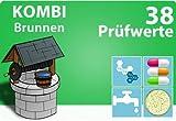 Brunnenwassertest + Bakterien Hygiene Test - KOMBIPAKET Wassertest für 38 Analysewerte