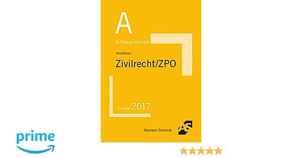 Aufbauschemata Zivilrecht Zpo Bgb Allgemeiner Teil Schuldrecht