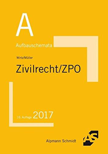 Aufbauschemata Zivilrecht / ZPO: BGB: Allgemeiner Teil, Schuldrecht, Sachenrecht, Familienrecht, Erbrecht. Handelsrecht, Gesellschaftsrecht, ... Allgemeines Gleichbehandlungsgesetz