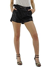 7593F pinocchietti PATRIZIA PEPE HANDMADE pantaloni corti donnaa trousers shorts