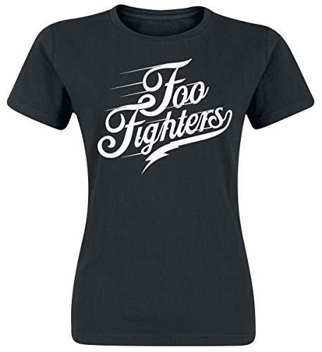 Foo fighters logo t-shirt nero m