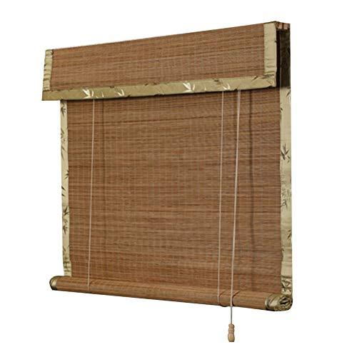 GDMING-Bambusrollo Jalousien Bambus Raffrollo Bambusvorhänge Römische Schatten Lichtfilter Fenster Sonnencreme Balkon Einfach Zu Verwenden Sicherheit Staubdicht (Sicherheit Jalousie-schnur)