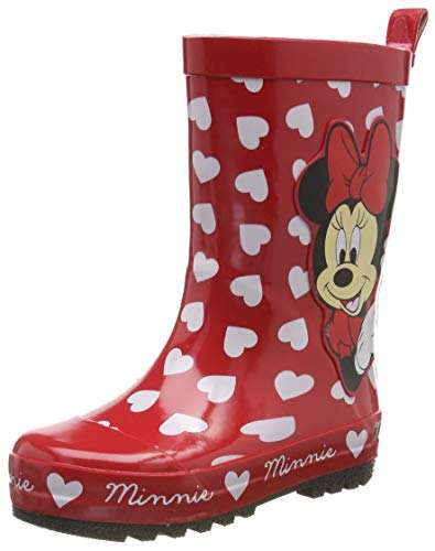 Disney Girls Kids Rainboots Boots Wellington