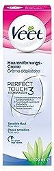 Veet Haarentfernungs-Creme für Sensible Haut mit Aloe Vera, 3er Pack (3 x 100 ml)