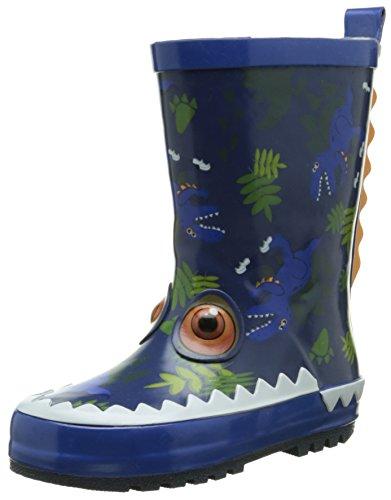 Be OnlyTyrex - Stivali da pioggia a metà polpaccio Unisex - Bambini , Blu (blu), 25