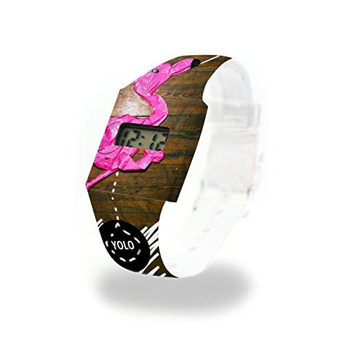 YOLO Papp Watch/Paper Watch/digitale orologio da polso in Tyvek, estremamente resistente e impermeabile