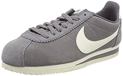 Mens Classic Cortez Se Gymnastics Shoes, Grey (Gunsmokesail 005), 6 UK (40 EU) Nike