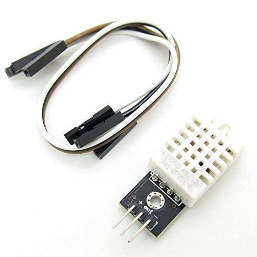 Pxyelec DHT22 1-Wire Bus DC 5V Temperatur und Luftfeuchtigkeit Sensor Modul mit 3 Draht für Arduino Raspberry DIY Bus Wire