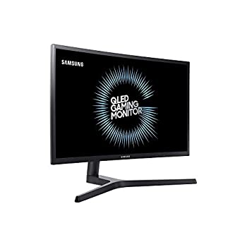 "Samsung C27FG73 Monitor da Gaming Curvo VA da 27"" Full HD, QLED, 1920 x 1080, 144 Hz, 1 ms, sRGB 125%, Regolabile in altezza, Pivot, Nero"
