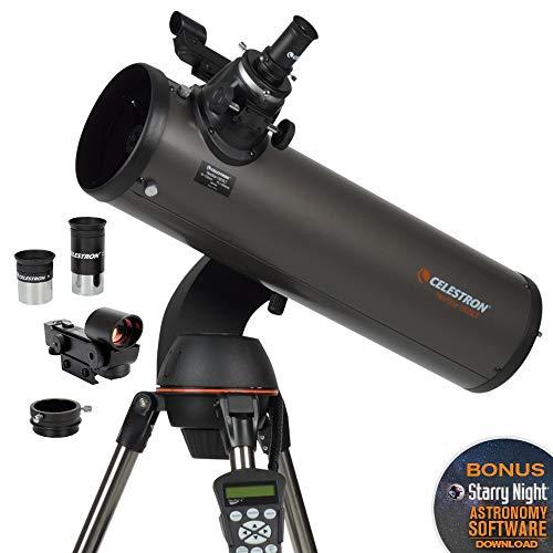 Celestron CE31145-DS NexStar 130 SLT Series Newtonian - Telescopio reflector (importado de Inglaterra)