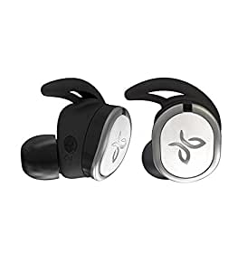 JaybirdRUN Wireless Headphones for Running, Bluetooth 4.1, Omni-Directional Mic, 4+8 Hours of Battery, Sweat-Resistant, Comfort-Fitted Earpieces, Skip-Free Music, Drift, White