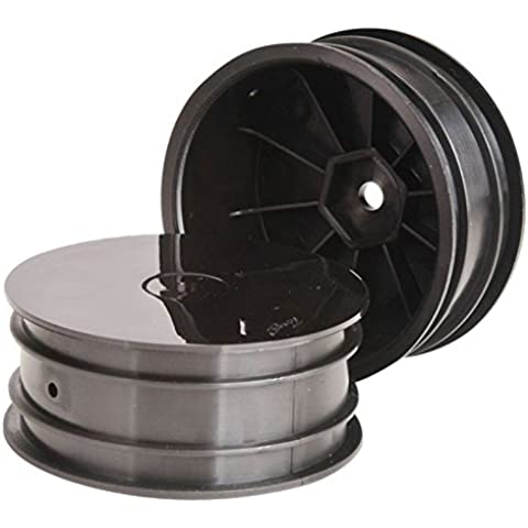 Buggy Rims 14mm Front Black (2) 4wd