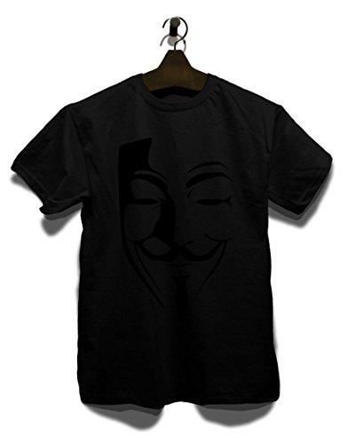 Anonimos Herren T-Shirt - Schwarz L
