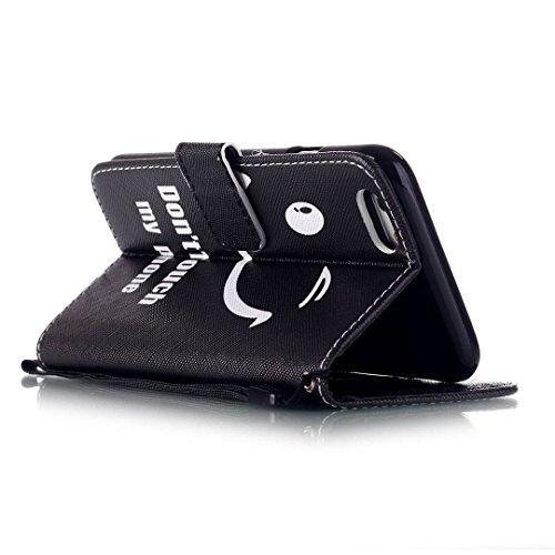 iPhone 6/6S Hülle im Bookstyle, Xf-fly® PU Leder Flip Wallet Case Cover Schutzhülle für Apple iPhone 6/6S Tasche Handytasche Schutz Etui Schale Handyhülle P-3