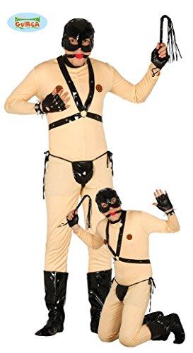 Bondage Sex Sklaven Kostüm Gr. M/L, Größe:L