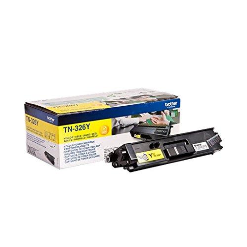 Brother Original Jumbo-Tonerkassette TN-326Y gelb (für Brother DCP-L8400CDN, DCP-L8450CDW, HL-L8250CDN, HL-L8350CDW, MFC-L8650CDW, MFC-L8850CDW) -