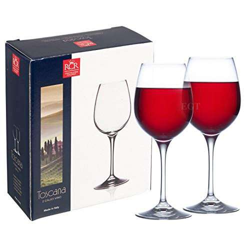 RCR Toscana 450cc Verres à vin rouge