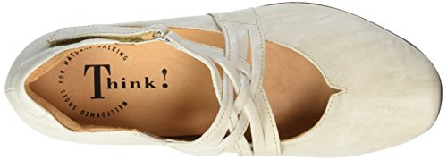 Think! Chilli 80108, Ballerine Donna Bianco (Shell 28)