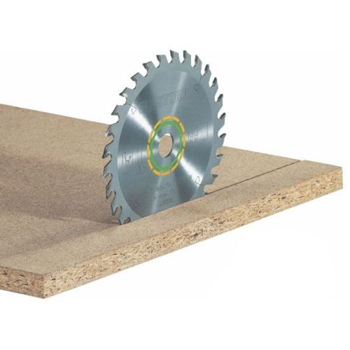 Festool Kreissägeblatt für alle Holzwerkstoffe (Durchmesser 160mm, Schnittbreite 2,2mm, 28 Zähne - Form W, HW 160 x 2, 2 x 20 W28), 496302