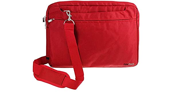 Navitech Red Graphics Tablet Case//Bag Compatible with The Wacom Intuos S Red Pen Tablet