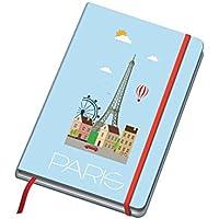 Dohe Vesta City - Cuaderno con diseño Paris, A5