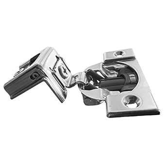 Nickel Plated Steel Pack of 8 Nickel Finish Blum 39C355B.20x8 1-1//4 Overlay Soft Close Cabinet Hinge