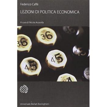 Lezioni Di Politica Economica