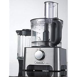 Kenwood FDM790BA MultiPro Food Processor, Robot da Cucina con Frullatore e Bilancia, 1000 W, 3 Litri, Metallo Pressofuso…
